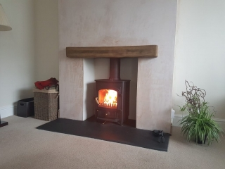 Pioneer with geocast mantle