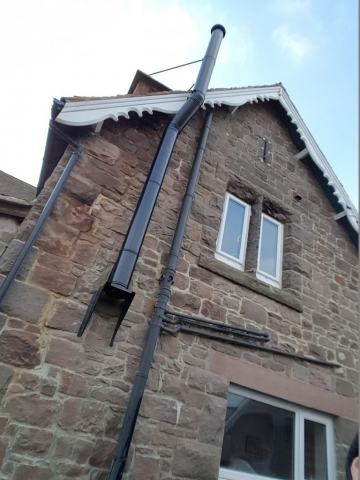 Twin Wall Flue installation